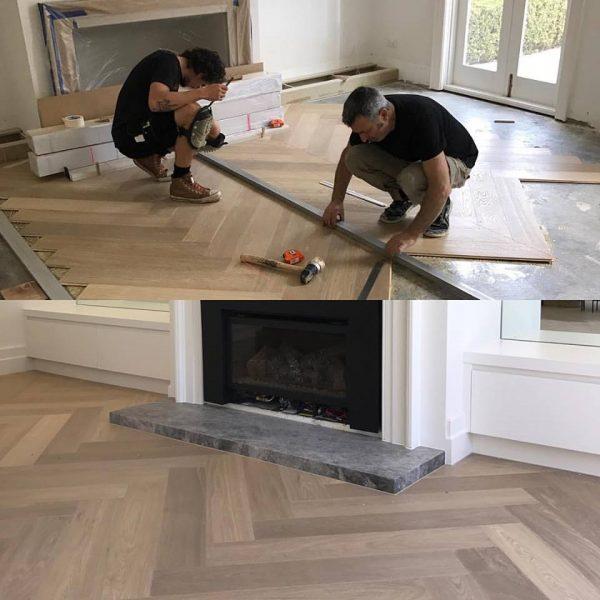 professional timber flooring installation