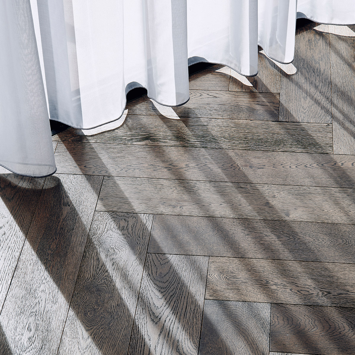 dark timber wood flooring