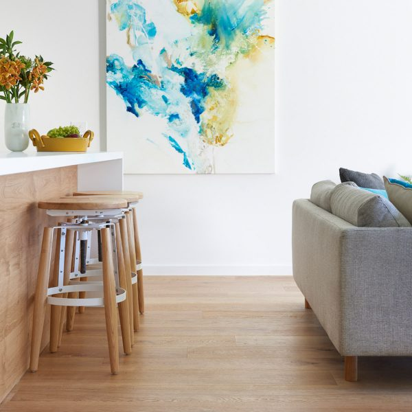 Light timber flooring