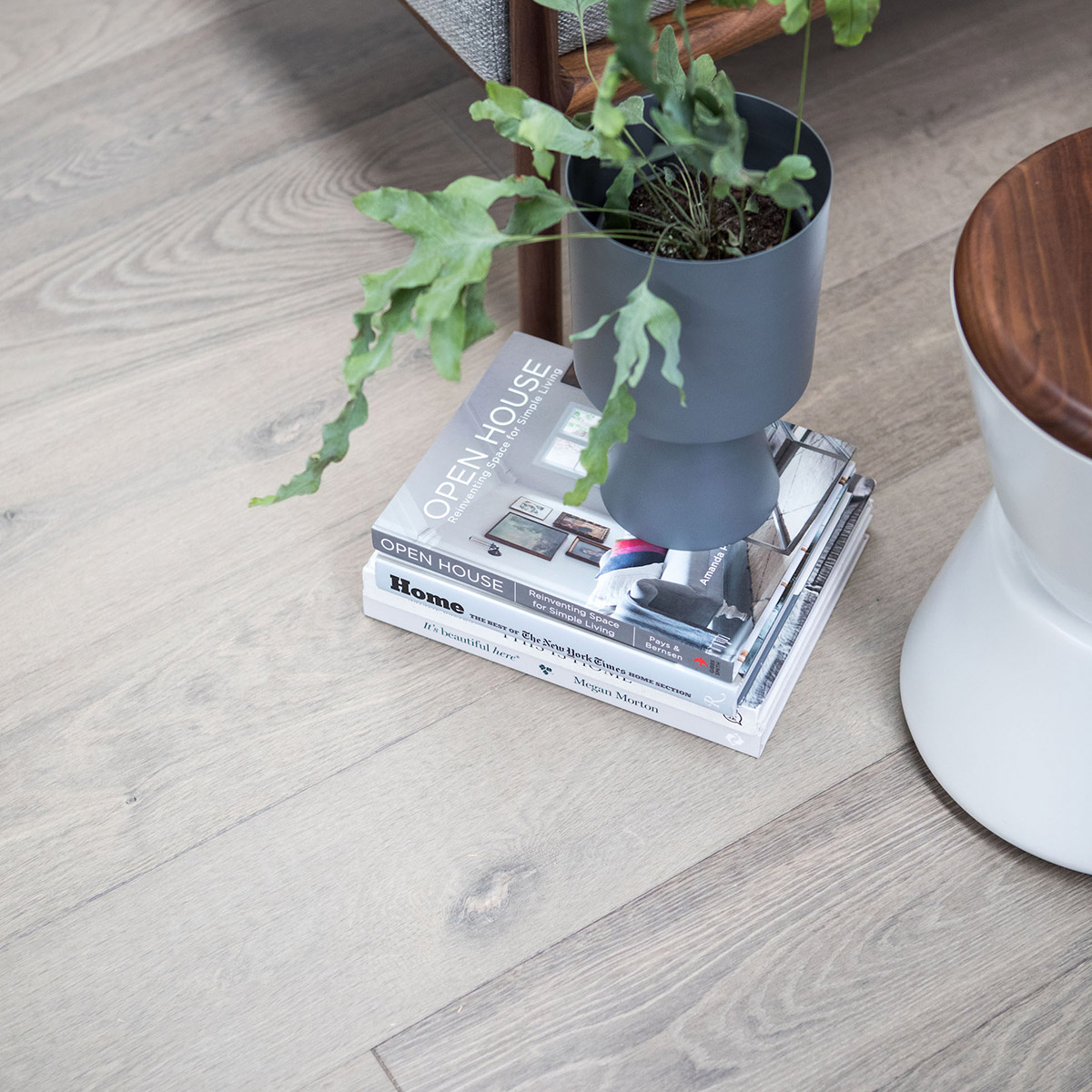 light grey timber flooring
