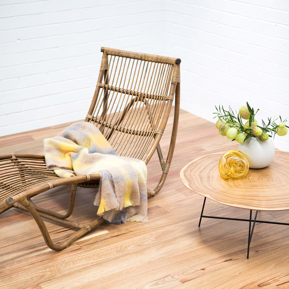 Spotted gum timber flooring