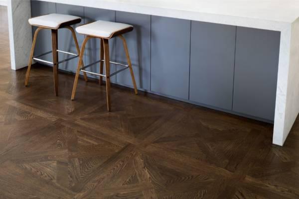 Parquet Flooring Dark Timber