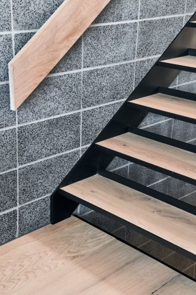 Timber stairs installation Port Melbourne