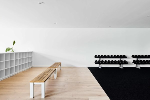 Timber Flooring Gym