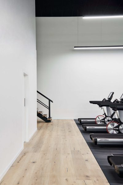 Timber Flooring in the Gym