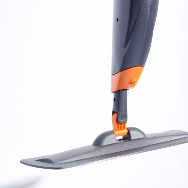 clean dirt and spills with loba mop