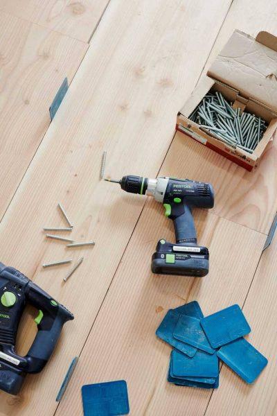 Timber Flooring Install
