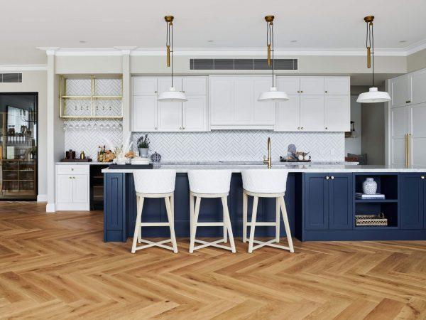 organic timber parquet flooring
