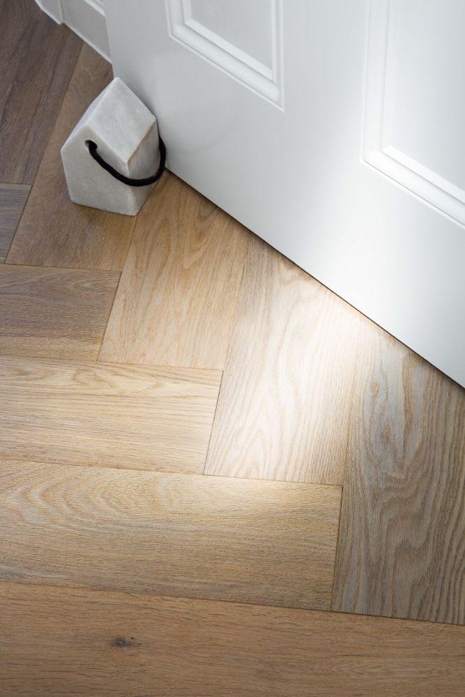Herringbone engineered flooring Kustom Timber